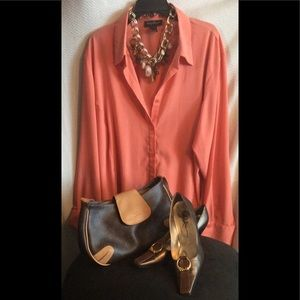 ASHLEY STEWART BLOUSE SIZE 22